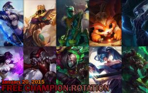 Free Champion Rotation – January 20