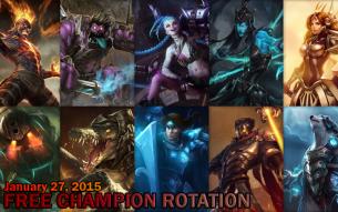 Free Champion Rotation – January 27