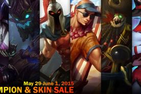 League of Legends Champion & Skin Sale – 05/29/15