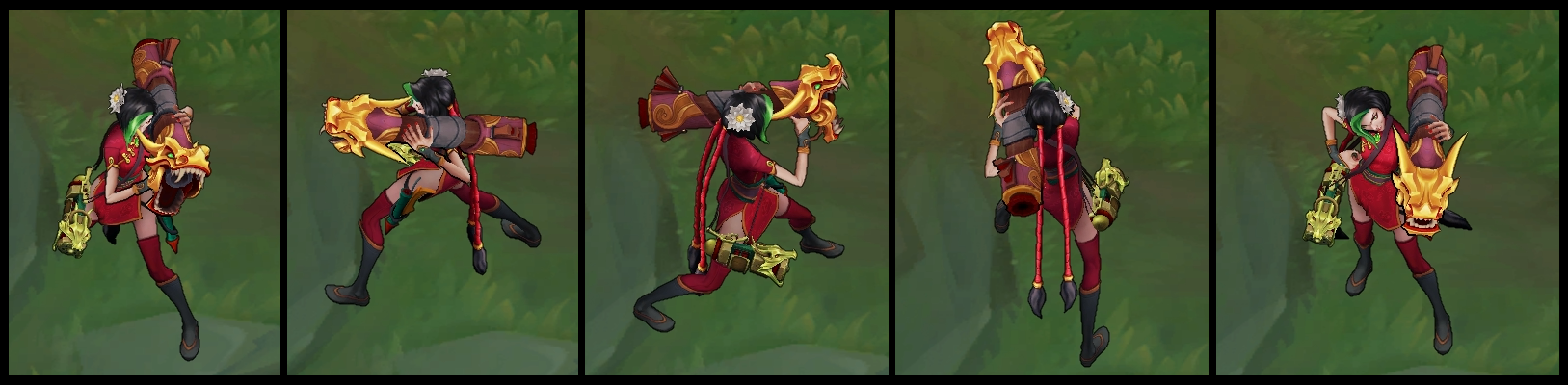 Firecracker Jinx Poses 2