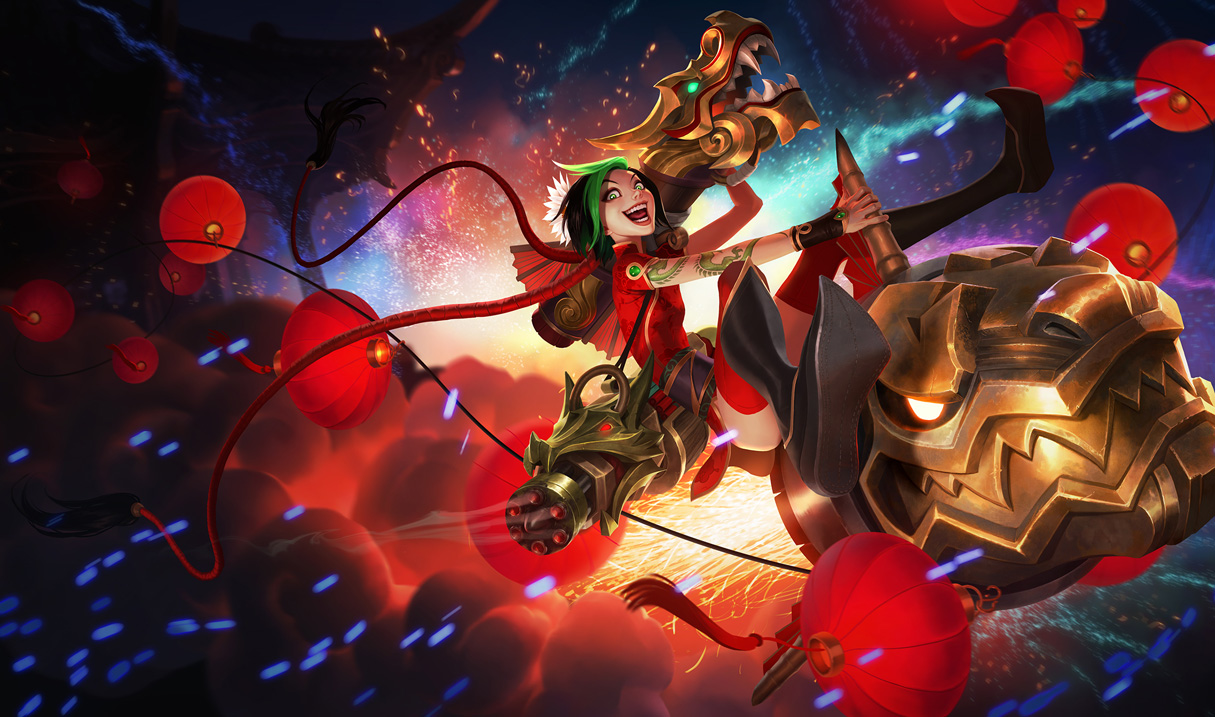 Firecracker Jinx Splash