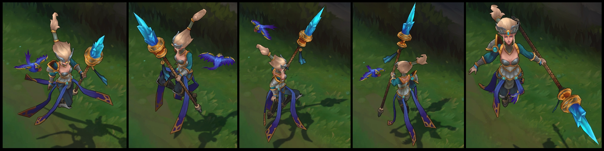 Victorious Janna Poses