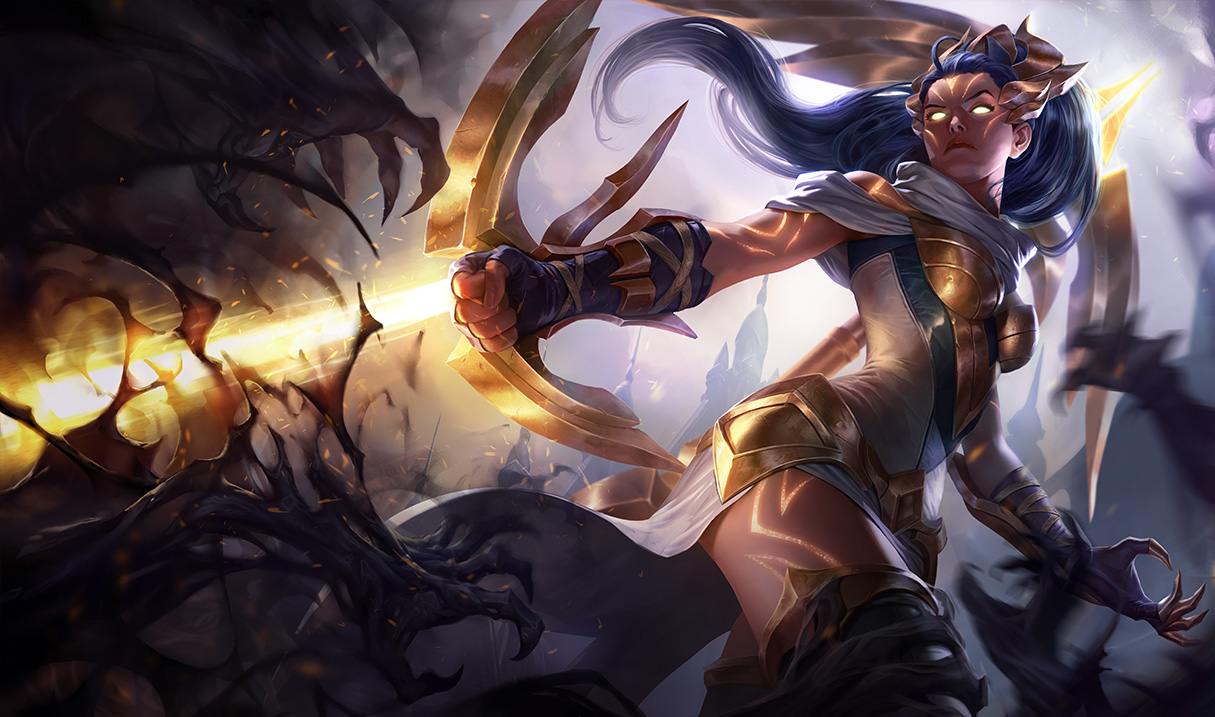 Arclight Vayne Splash Art