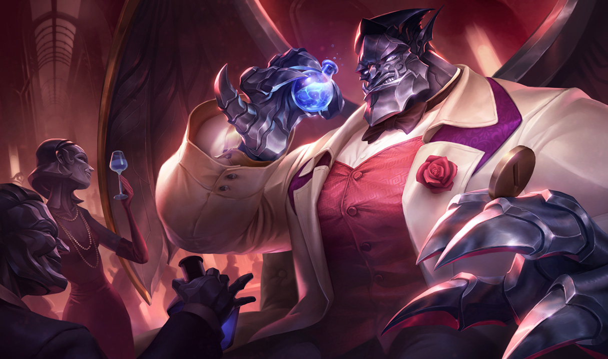 Debonair Galio Splash Art