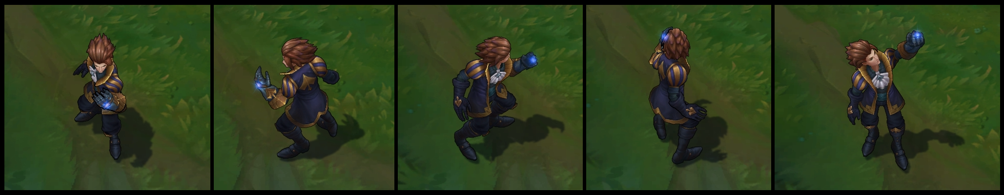 Ace of Spades Ezreal Poses I