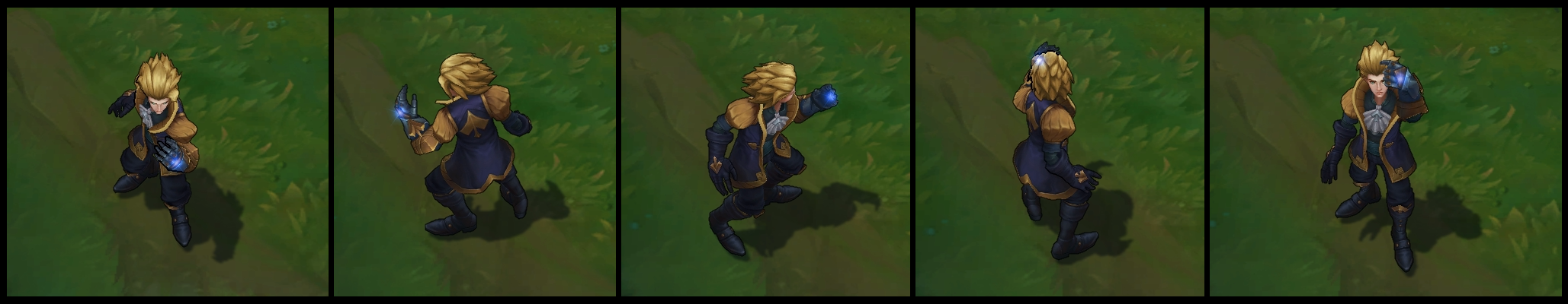 Ace of Spades Ezreal Poses II