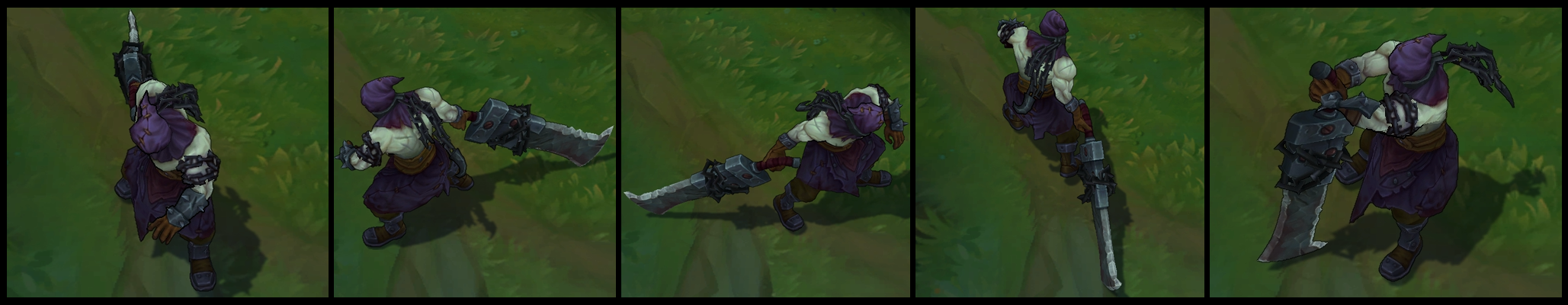 Nightmare Tryndamere Poses