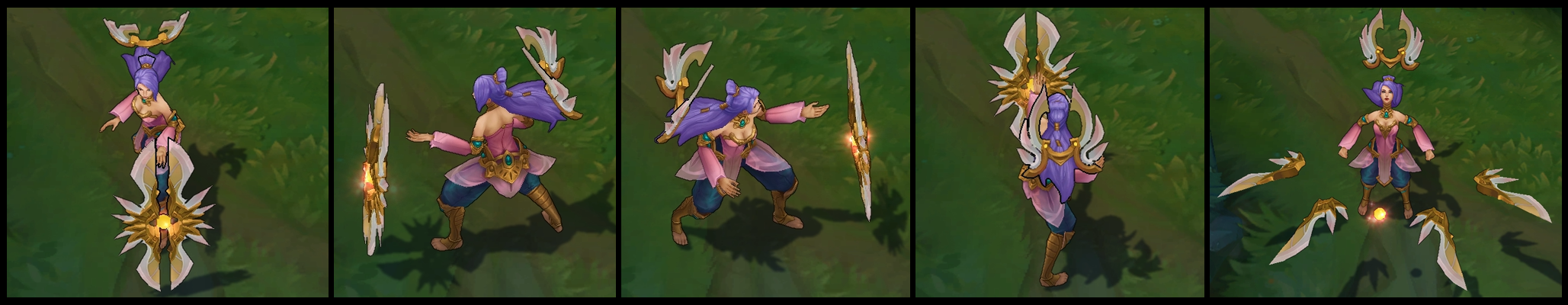 Order of the Lotus Irelia Poses I