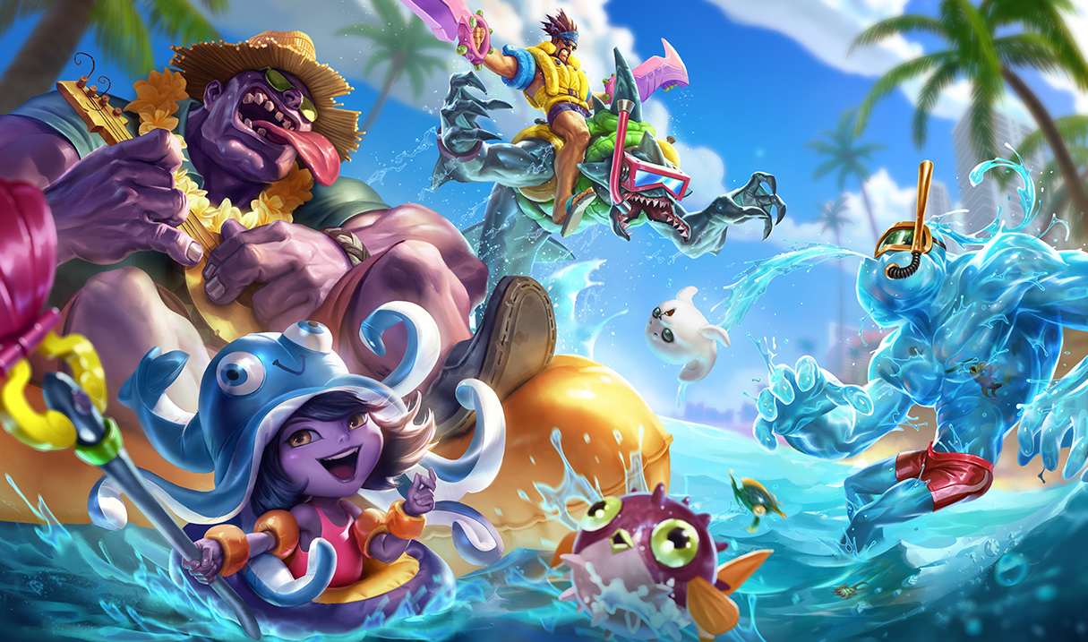 Pool Party Rek'Sai & Zac