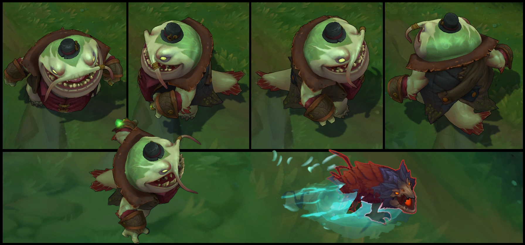 Tahm Kench Poses
