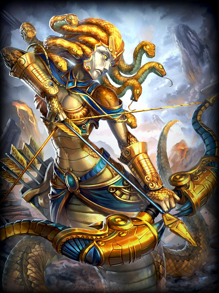 Golden Medusa