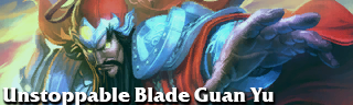 Unstoppable Blade Guan Yu